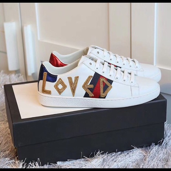 Gucci Shoes | Gucci Love Sneakers Size